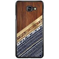 Samsung Galaxy A7 2016 hoesje - Modern wood