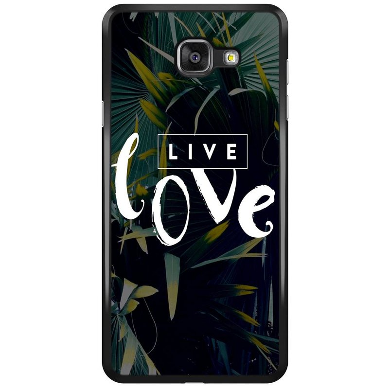 Samsung Galaxy A7 2016 hoesje - Live love