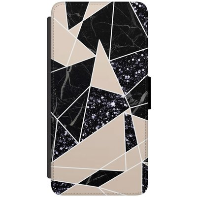 Samsung Galaxy S7 flipcase hoesje - Abstract painted