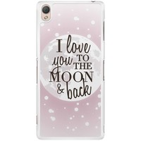 Casimoda Sony Xperia Z3 hoesje - I love you to the moon and back