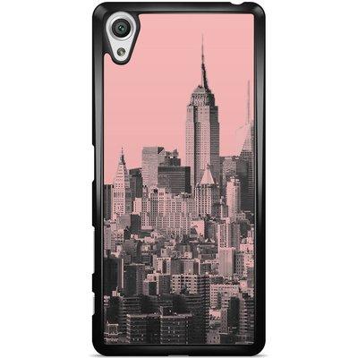 Casimoda Sony Xperia X hoesje - NYC in pink