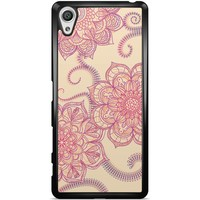 Sony Xperia X hoesje - Sweet floral mandala