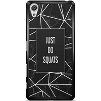 Sony Xperia X hoesje - Just do squats