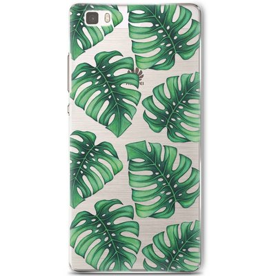 Casimoda Huawei P8 Lite hoesje - Palm leaves