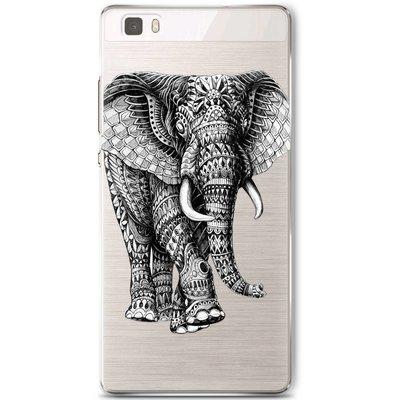 Casimoda Huawei P8 Lite hoesje - Olifant