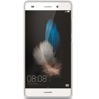 Huawei P8 Lite hoesje - Wereldmap