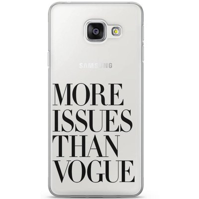Casimoda Samsung Galaxy A3 2016 hoesje - More issues than vogue