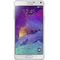 Samsung Galaxy Note 4 hoesje - Geo blocks on wood