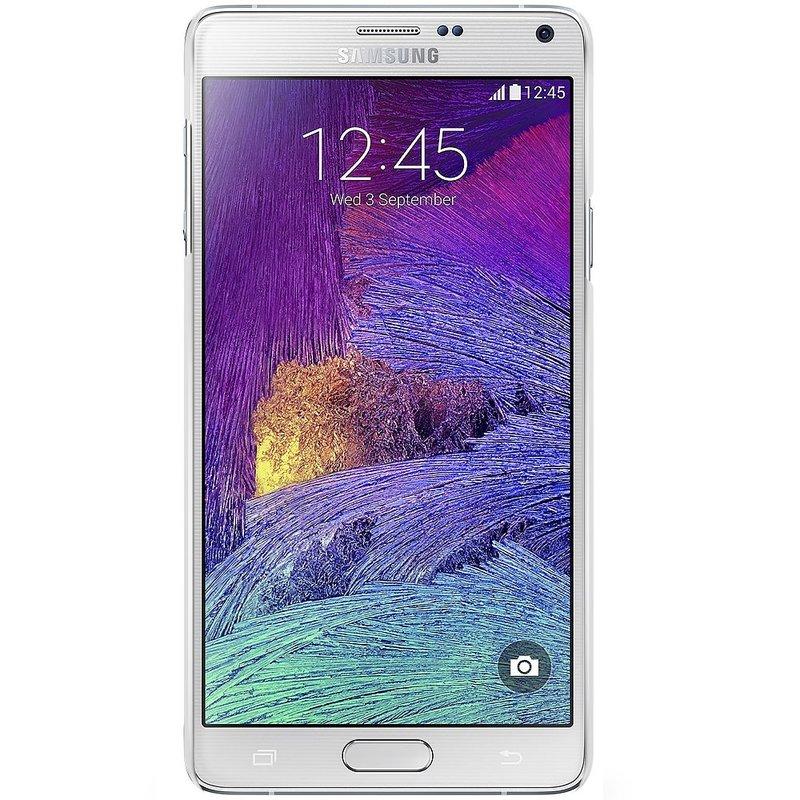 Samsung Galaxy Note 4 hoesje - Marble splash