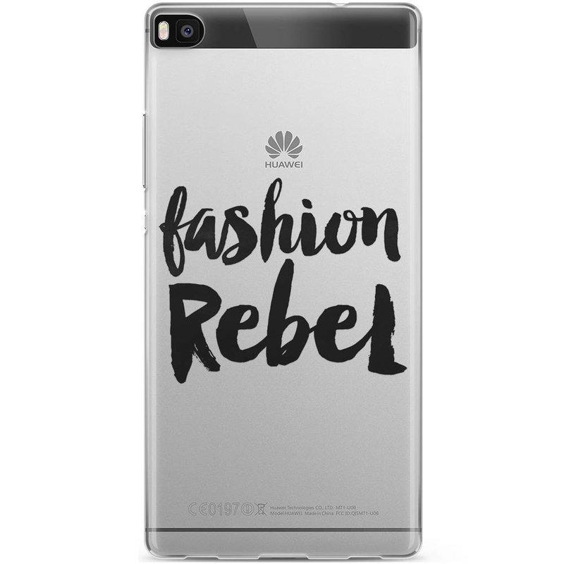 Casimoda Huawei P8 hoesje - Fashion rebel