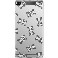Huawei P8 hoesje - Panda