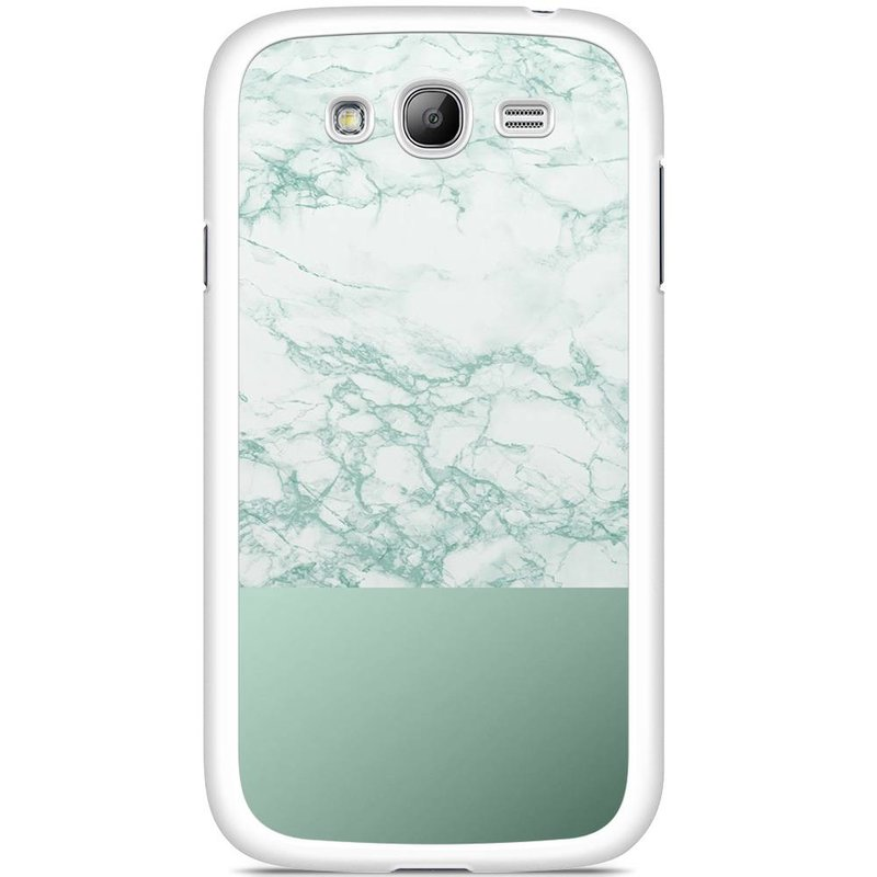 Samsung Galaxy Grand (Neo) hoesje - Minty marble