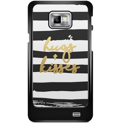 Casimoda Samsung Galaxy S2 hoesje - Hugs & kisses