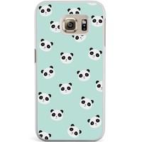 Samsung Galaxy S6 Edge hoesje - Panda's
