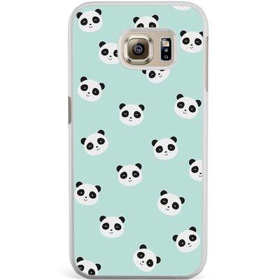 Casimoda Samsung Galaxy S6 Edge hoesje - Panda's