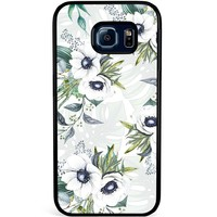 Samsung Galaxy S6 Edge hoesje - Floral art