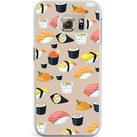 Samsung Galaxy S6 Edge hoesje - Sushi overload