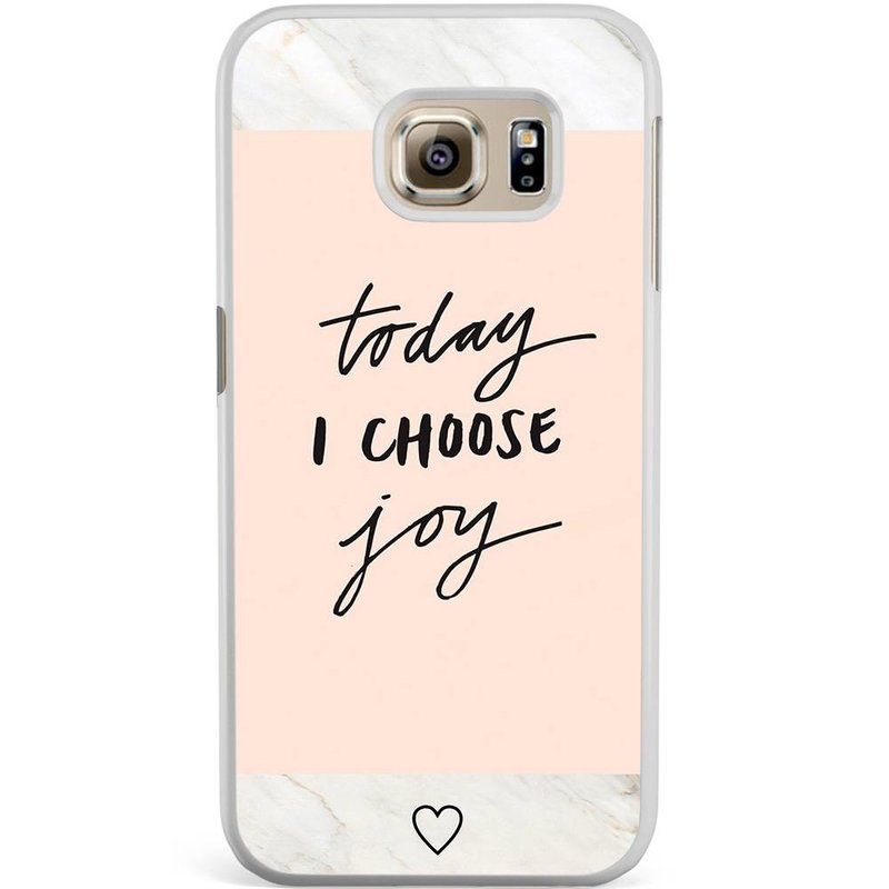 Samsung Galaxy S6 Edge hoesje - Choose joy