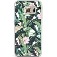 Samsung Galaxy S6 Edge hoesje - Tropical banana