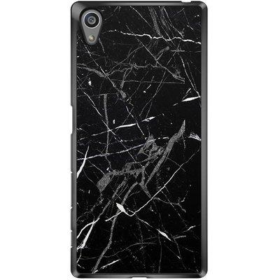 Casimoda Sony Xperia Z5 hoesje - Marmer zwart