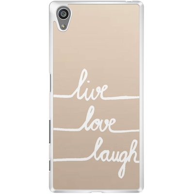 Casimoda Sony Xperia Z5 hoesje - Live, love, laugh