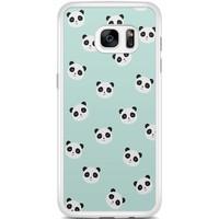 Casimoda Samsung Galaxy S7 Edge hoesje - Panda's