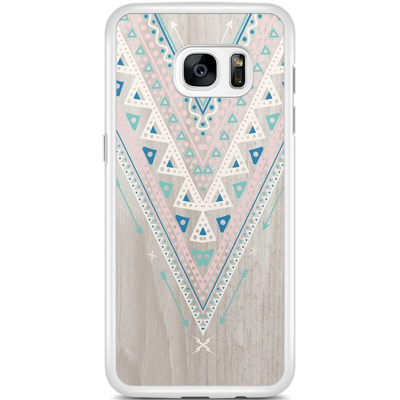 Casimoda Samsung Galaxy S7 Edge hoesje - Arrow wood