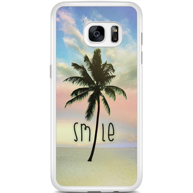 Casimoda Samsung Galaxy S7 Edge hoesje - Palm smile