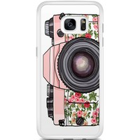 Casimoda Samsung Galaxy S7 Edge hoesje - Hippie camera
