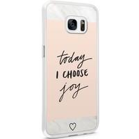 Casimoda Samsung Galaxy S7 Edge hoesje - Choose joy