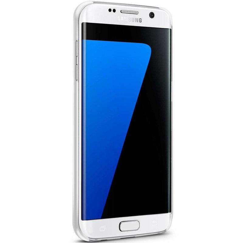 Casimoda Samsung Galaxy S7 Edge hoesje - Flamingos x swans