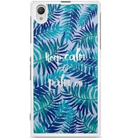 Sony Xperia Z1 hoesje - Keep calm and palm on