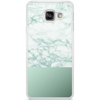 Samsung Galaxy A3 2016 hoesje - Minty marble