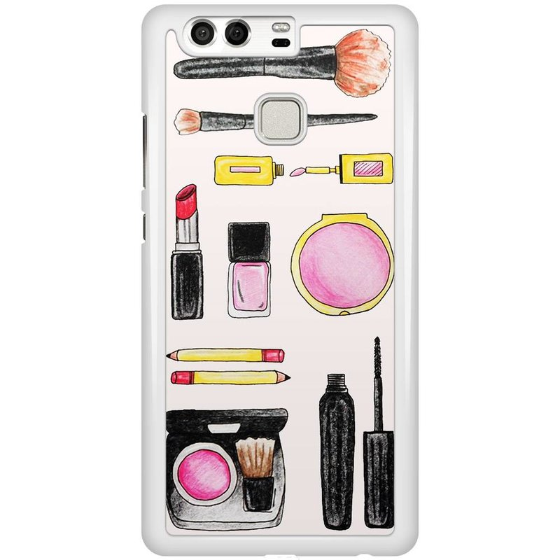 Casimoda Huawei P9 hoesje - Wake up and make up