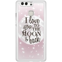 Casimoda Huawei P9 hoesje - I love you to the moon and back