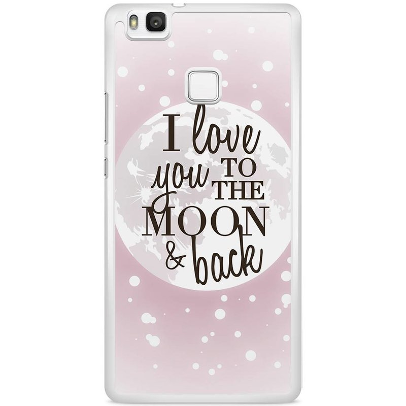 Casimoda Huawei P9 Lite hoesje - I love you to the moon and back