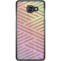Casimoda Samsung Galaxy A5 2016 hoesje - Holographic wood
