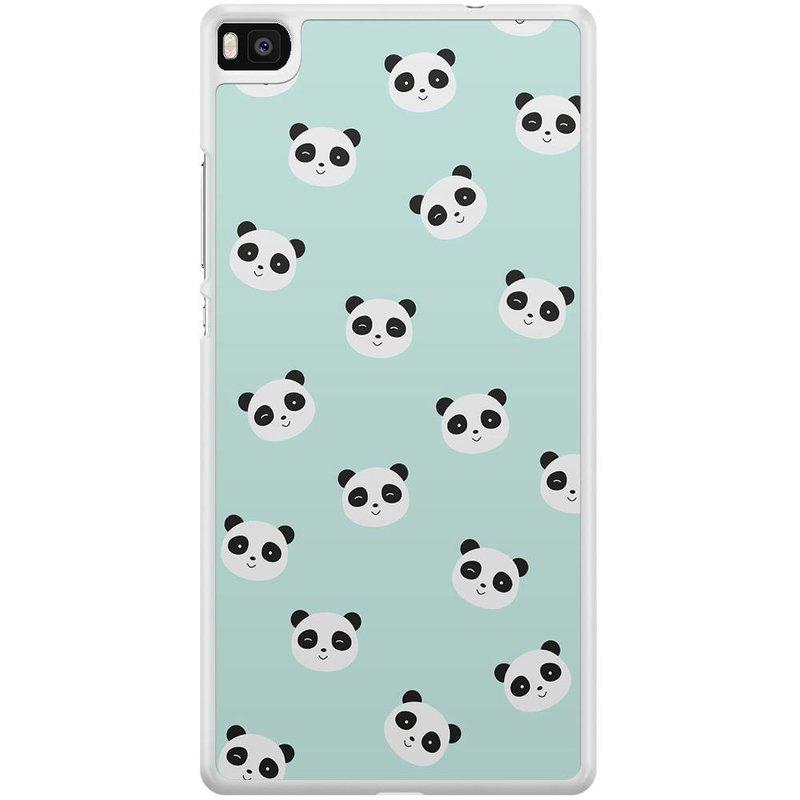 Casimoda Huawei P8 hoesje - Panda's