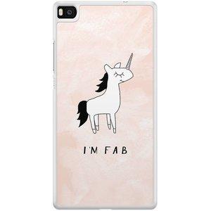 Huawei P8 hoesje - I'm fab