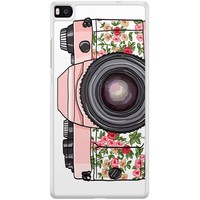 Casimoda Huawei P8 hoesje - Hippie camera