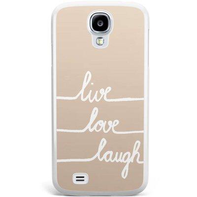 Casimoda Samsung Galaxy S4 hoesje - Live, love, laugh
