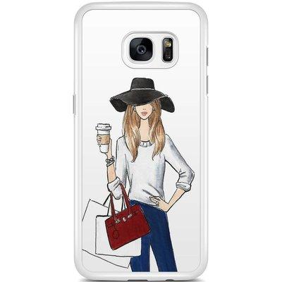 Casimoda Samsung Galaxy S7 Edge hoesje - Fashionista