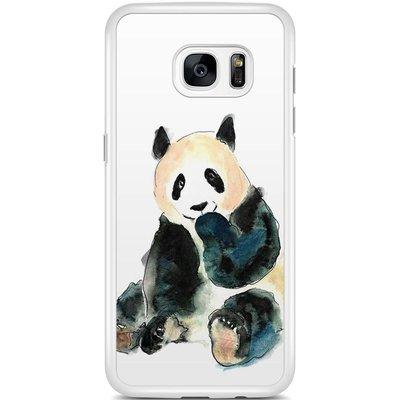 Casimoda Samsung Galaxy S7 Edge hoesje - Panda