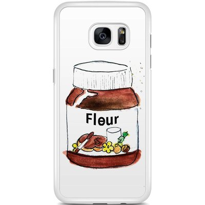 Samsung Galaxy S7 Edge hoesje - Chocoladepot