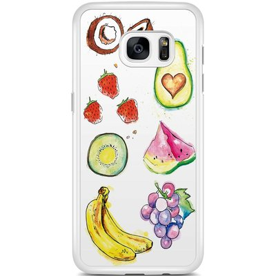 Casimoda Samsung Galaxy S7 Edge hoesje - Powerfoodie