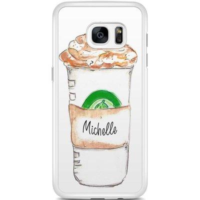 Casimoda Samsung Galaxy S7 Edge hoesje - Frappuccino