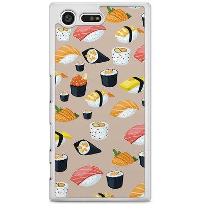 Casimoda Sony Xperia X Compact hoesje - Sushi overload