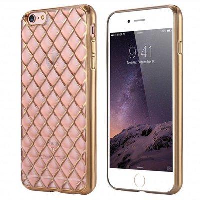 Casimoda iPhone 6/6S hoesje - Raster roze