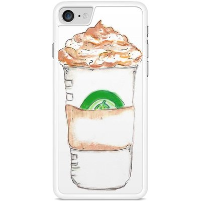 Casimoda Telefoonhoesje - Frappuccino met naam