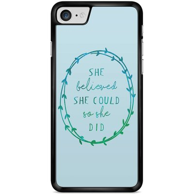 Casimoda Telefoonhoesje - She believed and so she did